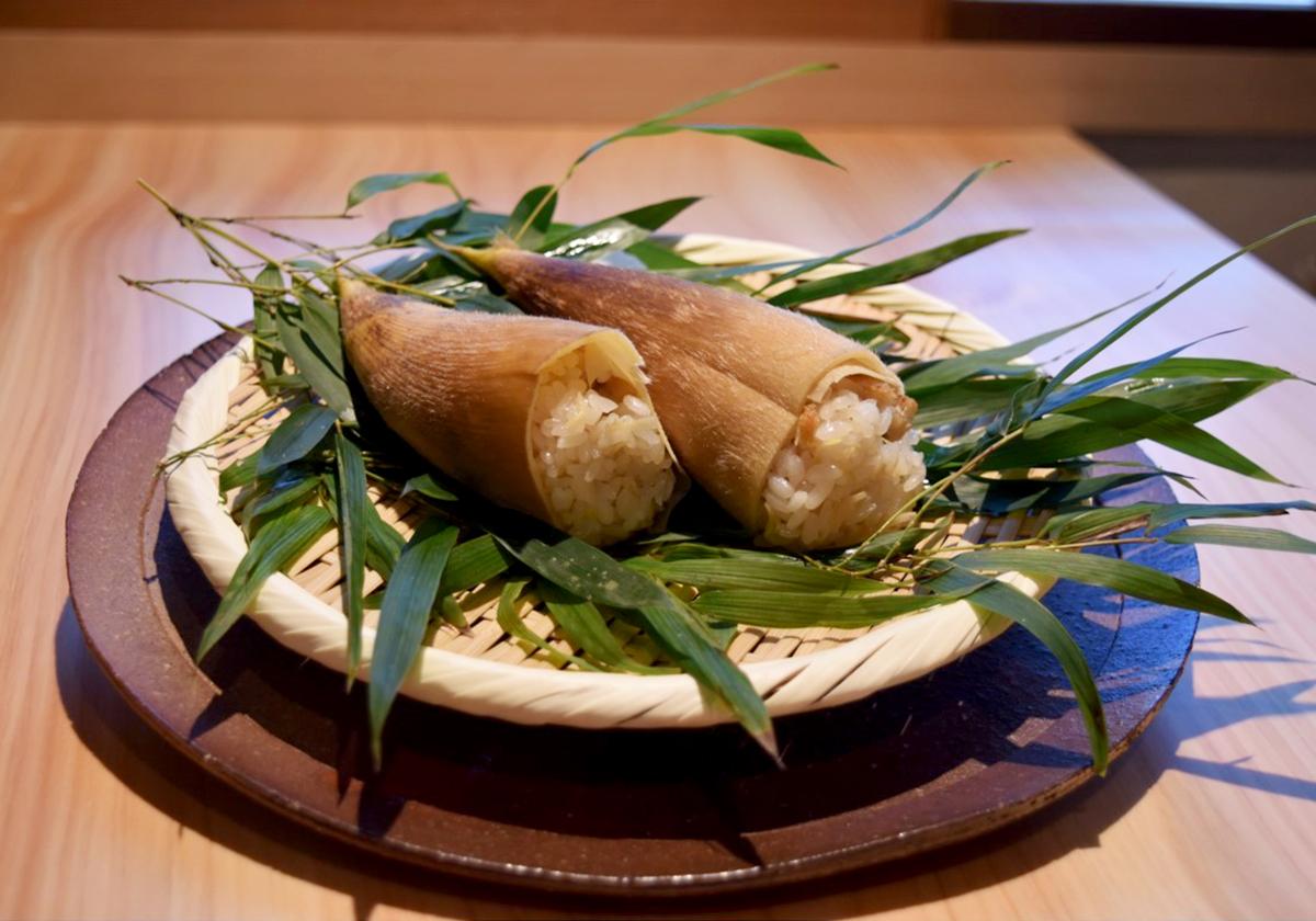 銀座志翠のお食事